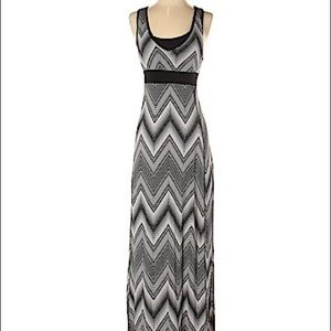 Dry Tek maxi dress with built in sports bra